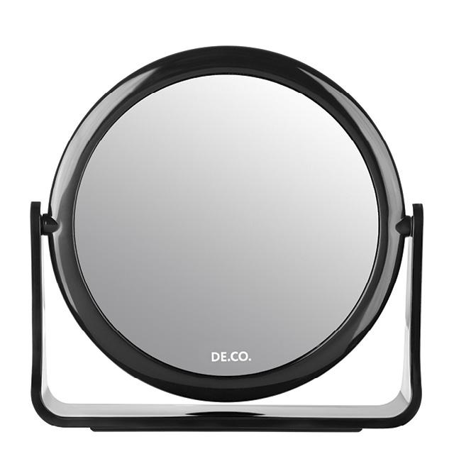 Зеркало для макияжа DE.CO. двустороннее настольное