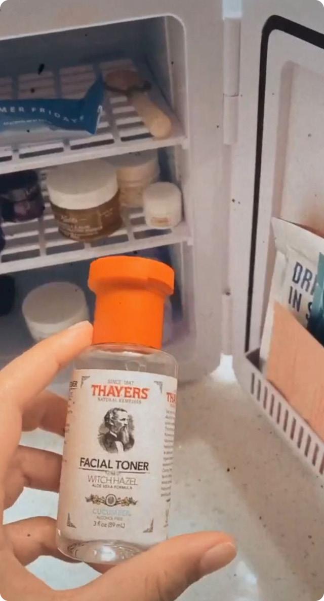 Что можно хранить в бьюти-холодильнике