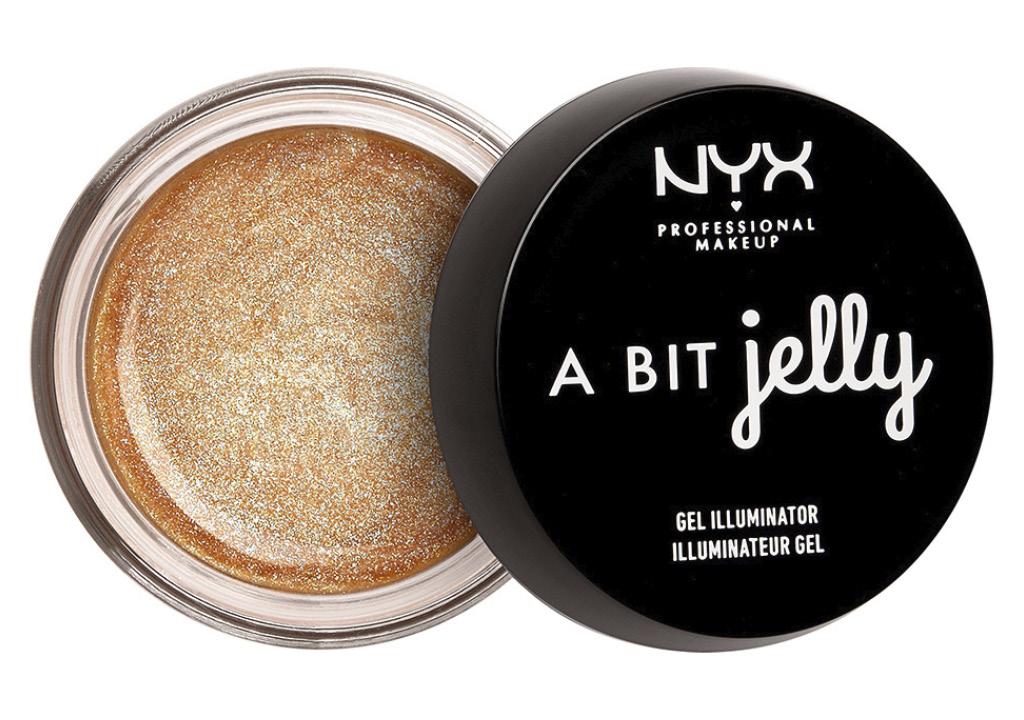 Хайлайтер для лица Nyx Professional Makeup A Bit Jelly гелевый тон Luminous
