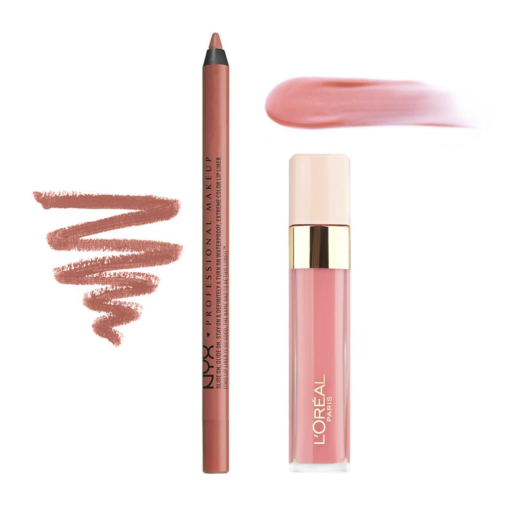 Карандаш для губ Nyx Professional Makeup Slide On Lip Pencil тон 14 Nude suede shoes стойкий