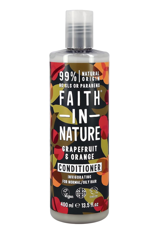 Кондиционер для волос Faith in Nature укрепляющий с маслами грейпфрута и апельсина