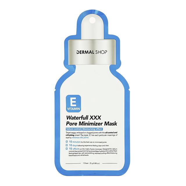 Маска для лица Dermal с витамином Е (для сужения пор)