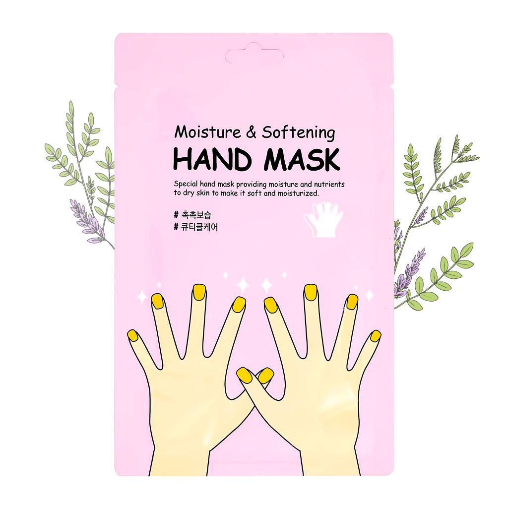 Маска-перчатки для рук She's Lab, увлажняющая