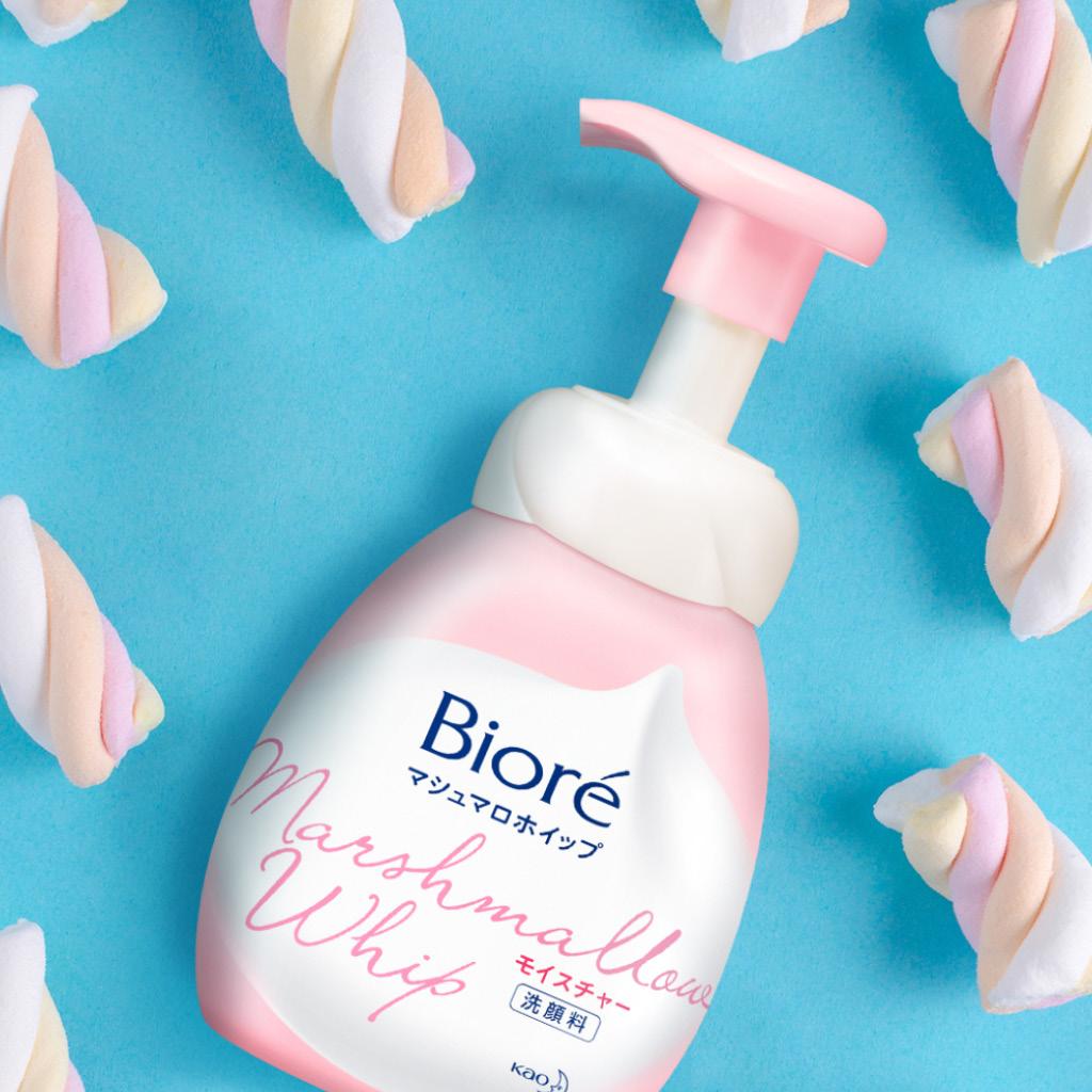 Мусс для умывания Biore очищающий с увлажняющим эффектом