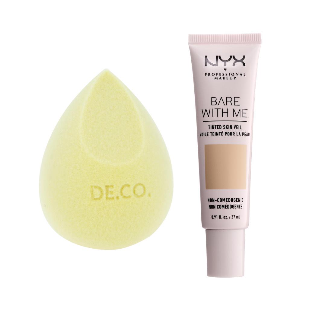 Основа тональная для лица Nyx Professional Makeup Bare With Me тон Beige camel