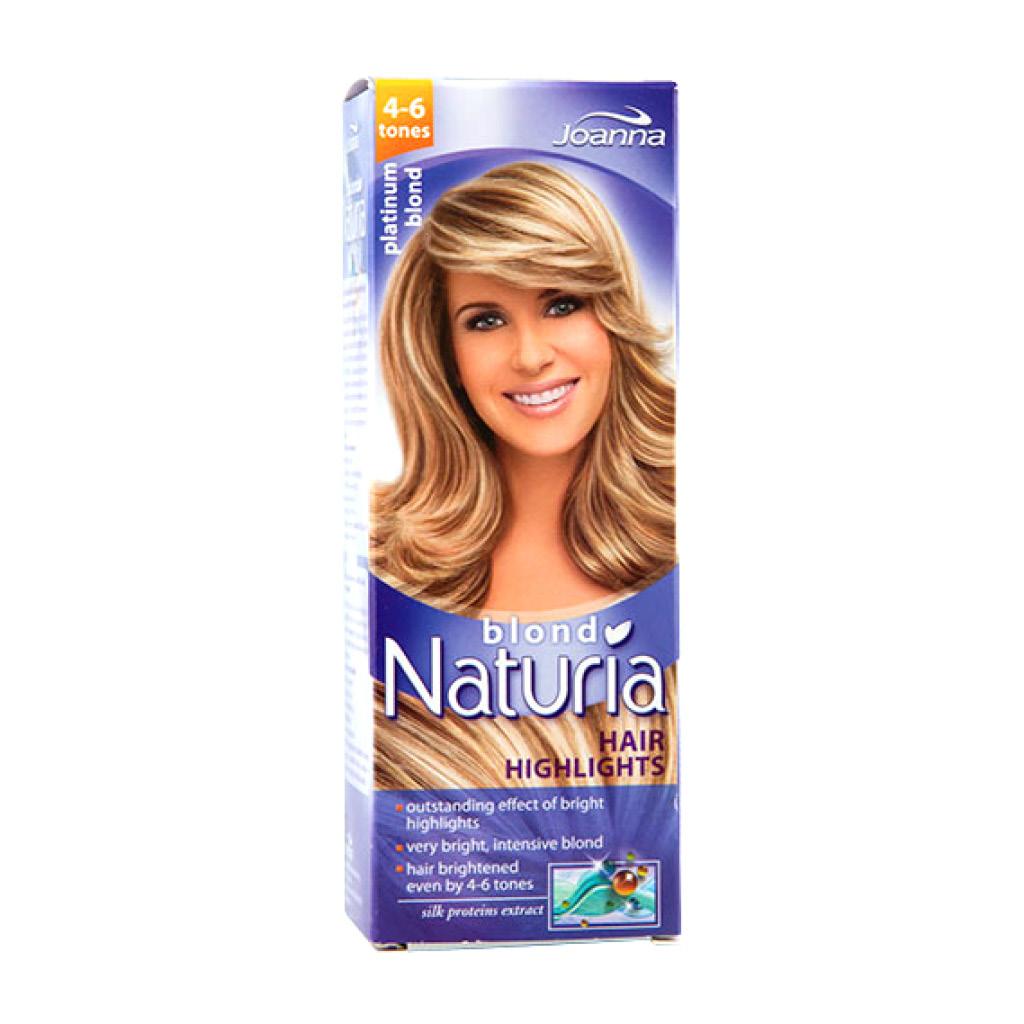 Осветлитель Joanna Naturia Blond для прядей и балаяжа (тон 4-6)