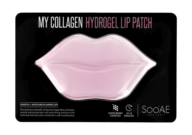 Патч для губ Soo`AE My Collagen гидрогелевый