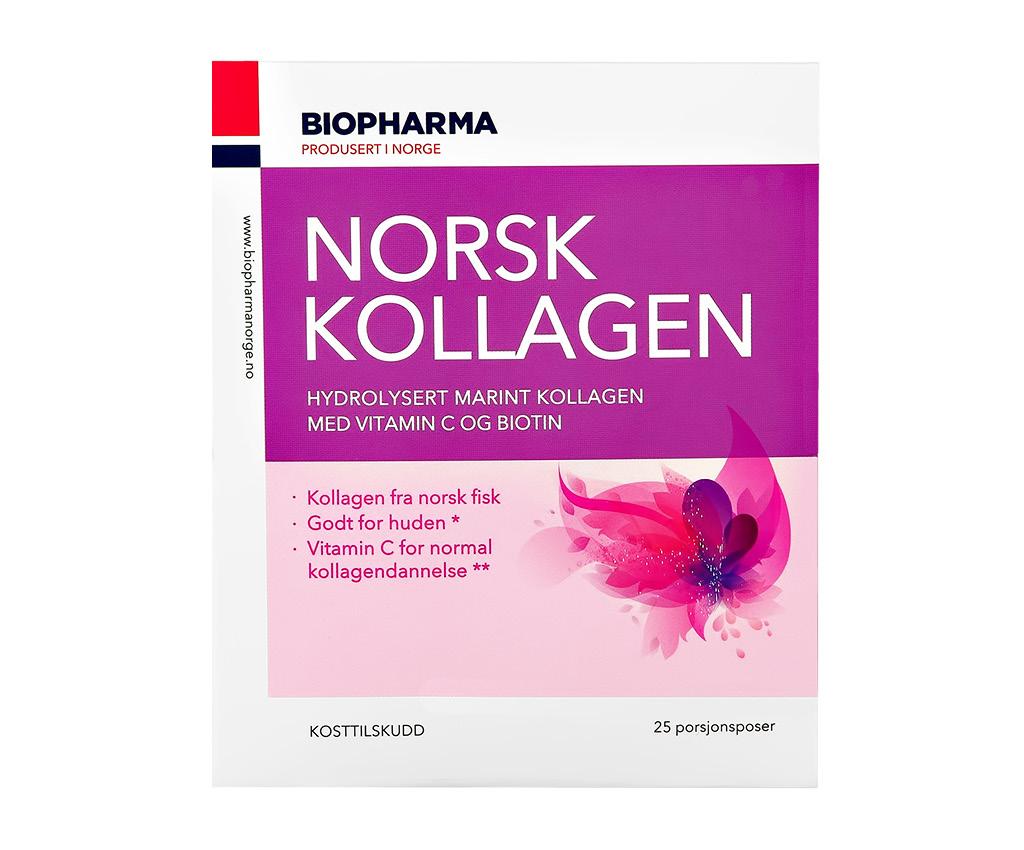Порошок в пакетах-саше Biopharma Norsk Kollagen Норск коллаген