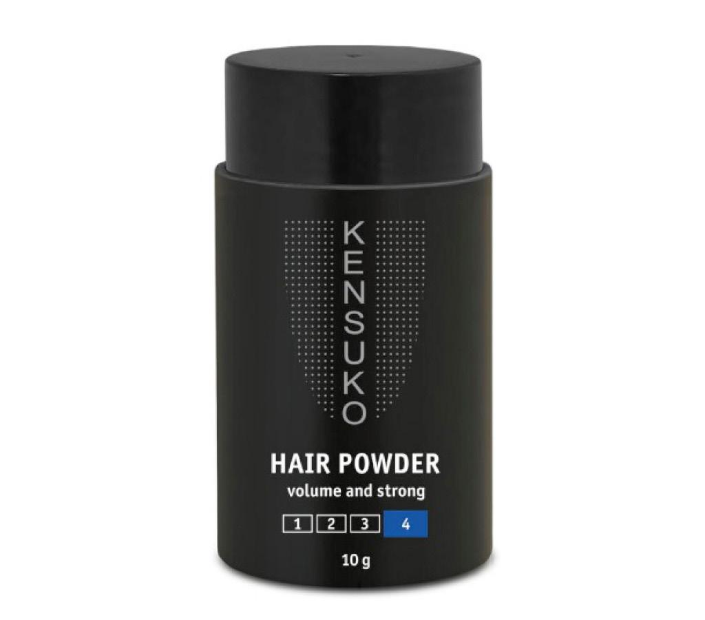 Пудра для объема волос Kensuko Create сильной фиксации (для темных волос)