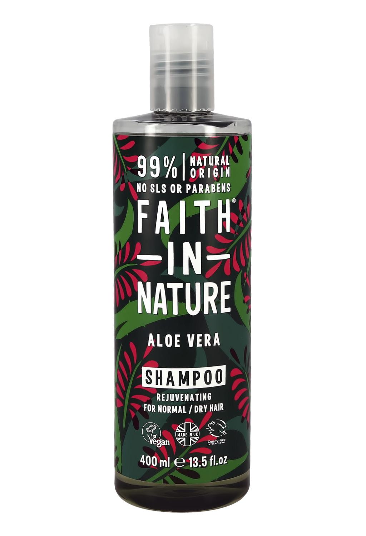 Шампунь для волос Faith in Nature увлажняющий с соком алоэ вера