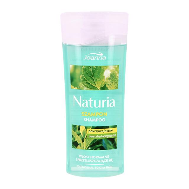 Шампунь для волос Joanna Naturia Крапива и зеленый чай (для нормальных и жирных волос)