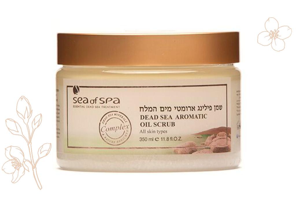 Скраб с солями Мертвого моря на основе натуральных масел «Жасмин», Bio Spa