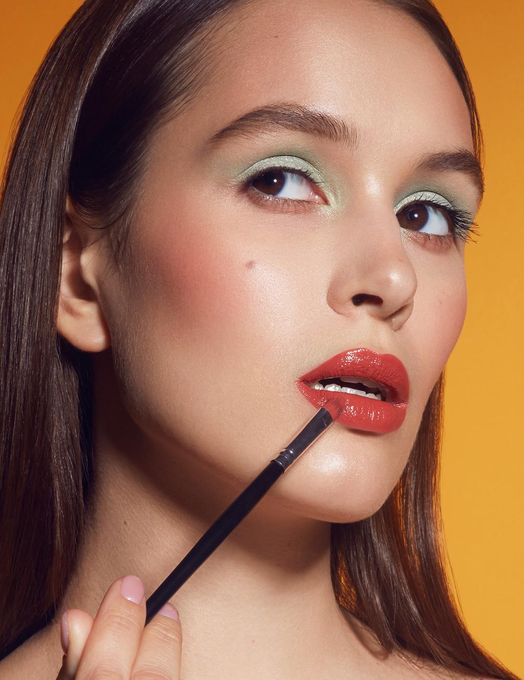 4-й этап макияж губ