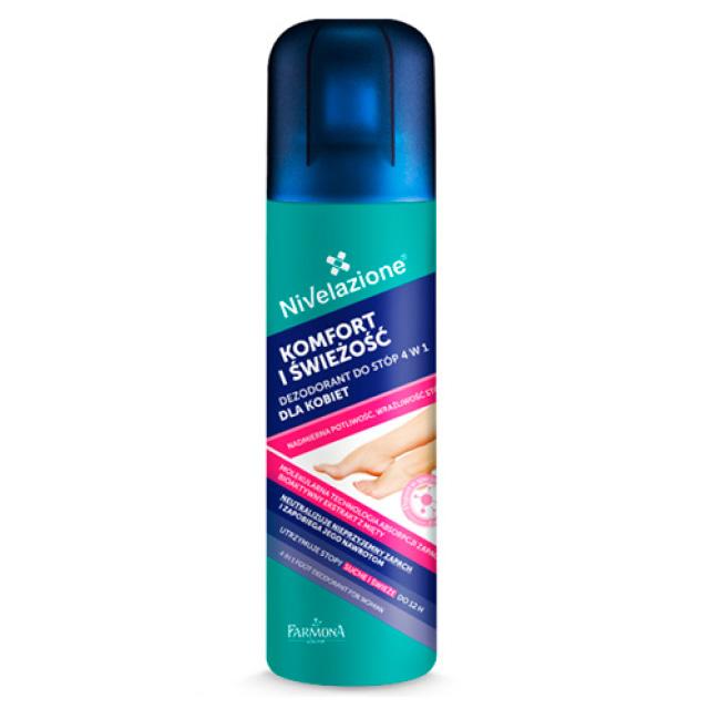 Дезодорант для ног Farmona Nivelazione 4 в 1 для женщин