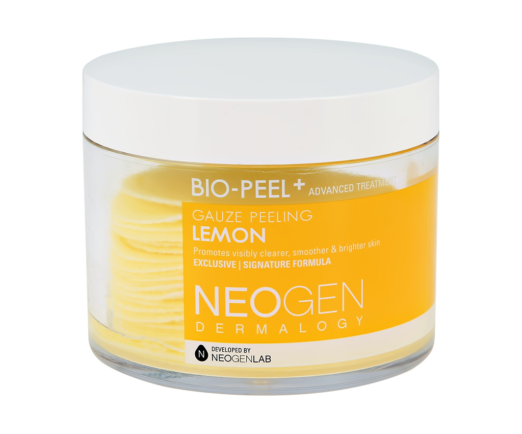 Диски для лица отшелушивающие с экстрактом лимона Bio-Peel Neogen