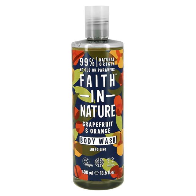 Гель для душа Faith In Nature с экстрактом грейпфрута и апельсина