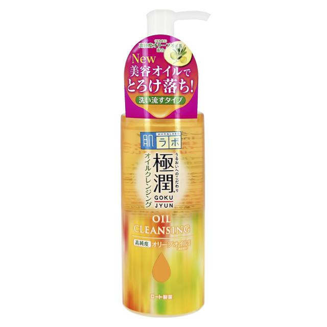Гидрофильное масло для лица Hada Labo Gokujyun с гиалуроновой кислотой