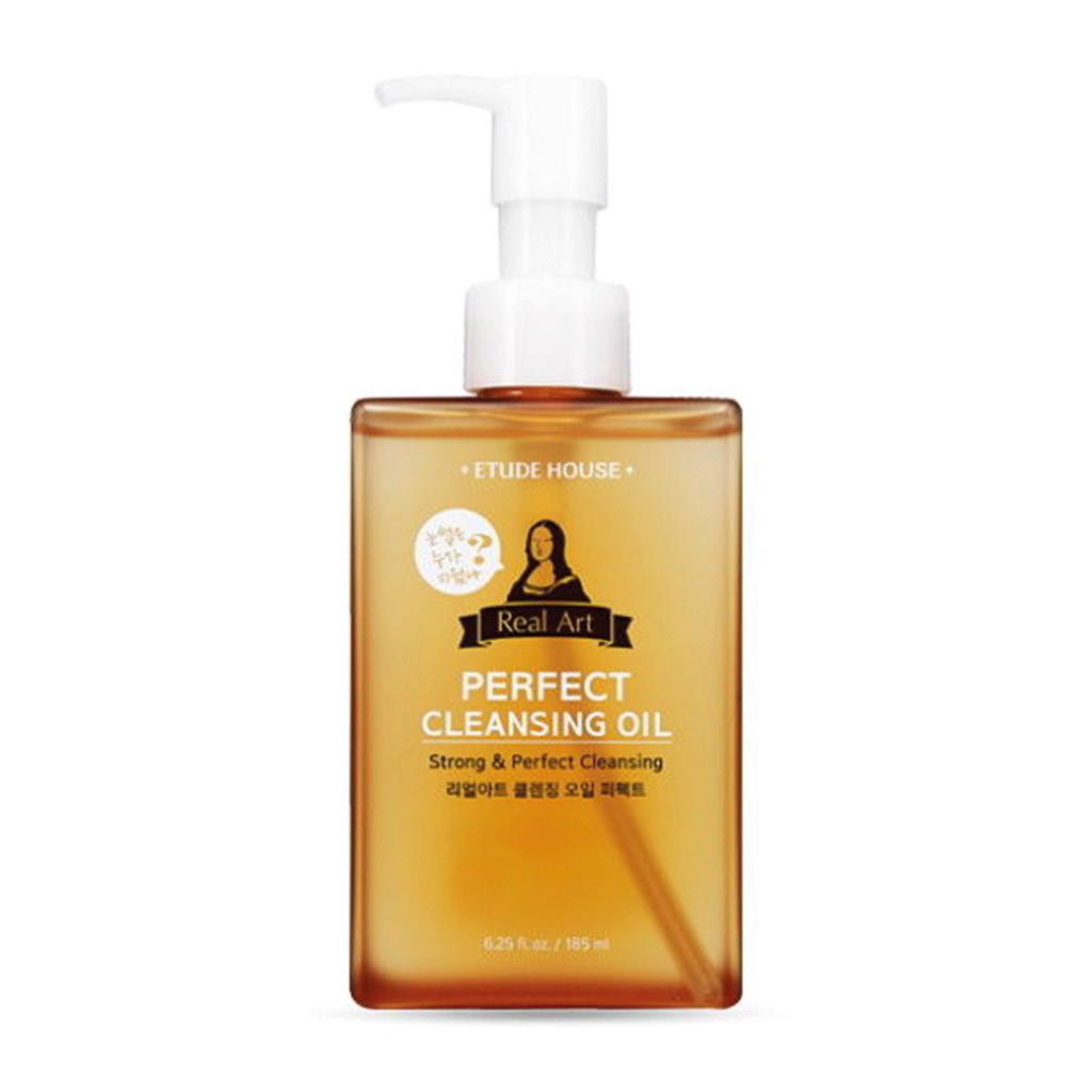 Гидрофильное масло Real Art Perfect Cleansing Oil Etude House