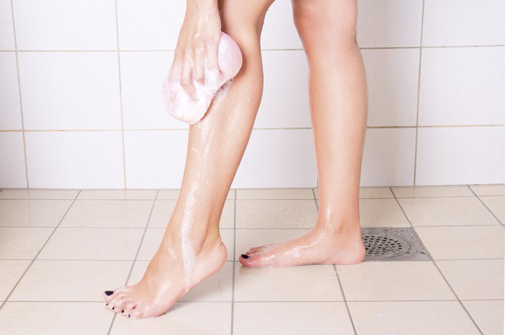 Гигиена — залог здоровых ног