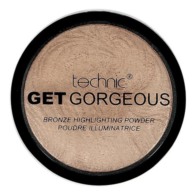 Хайлайтер для лица Technic Get Gorgeous Highlighting Powder тон Bronze