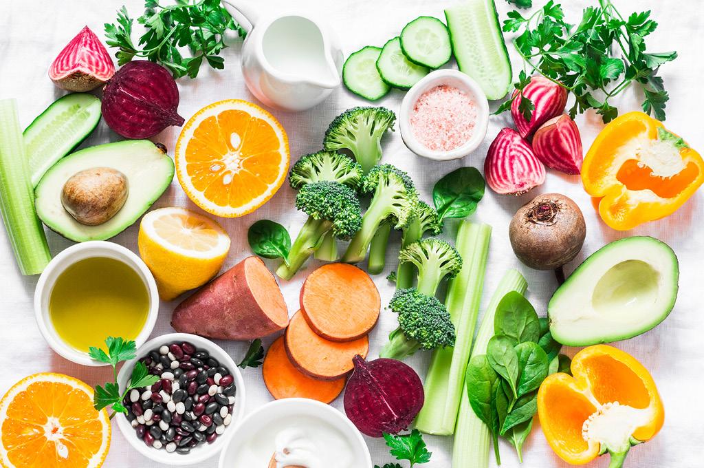 Каротиноиды содержатся в овощах и фруктах