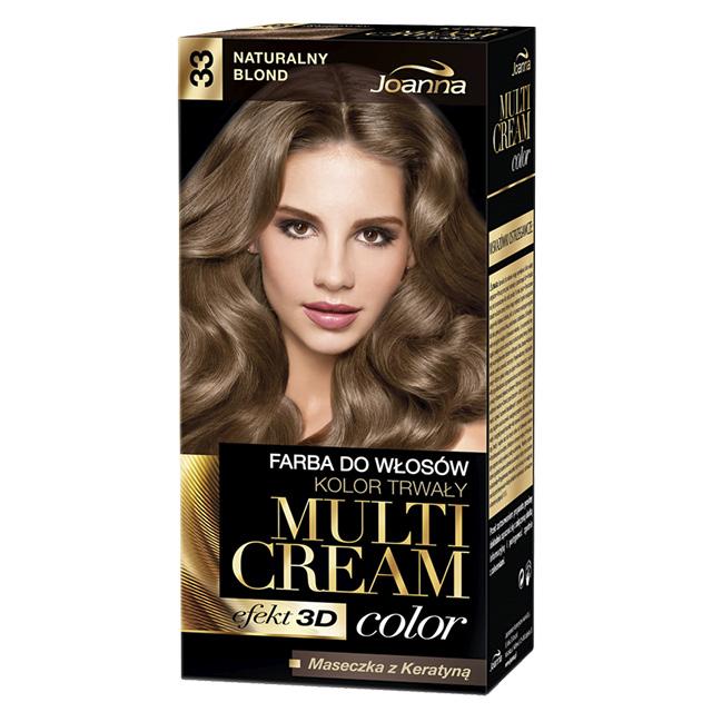 Краска для волос Joanna Multi Cream тон Натуральный блонд