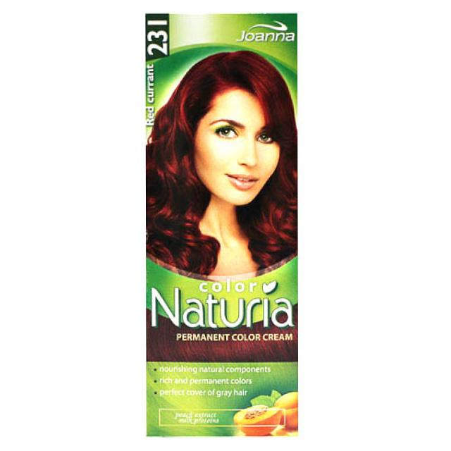 Краска для волос Joanna Naturia Color (тон 231) Красная смородина