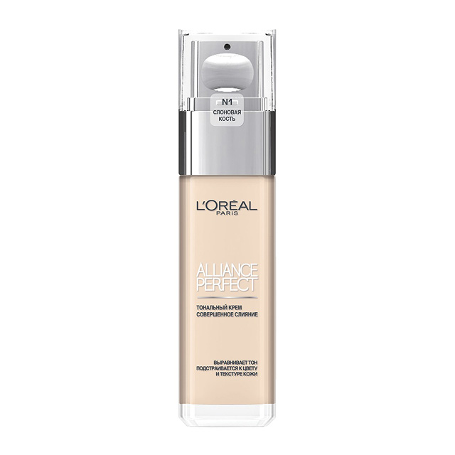 Крем тональный для лица Alliance Perfect L'Oréal, тон N1 (ivory)