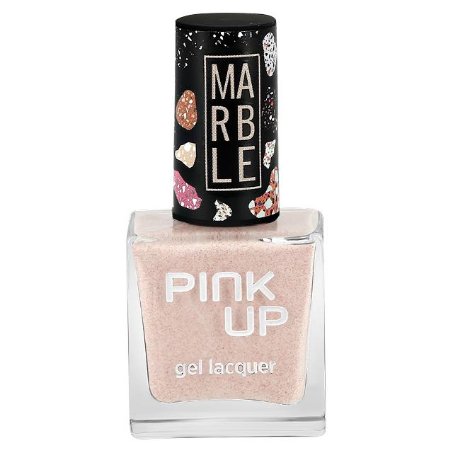 Лак для ногтей Pink Up Limited Marble тон 01