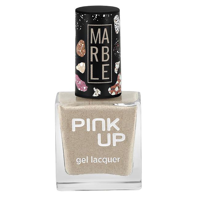 Лак для ногтей Pink Up Limited Marble тон 02