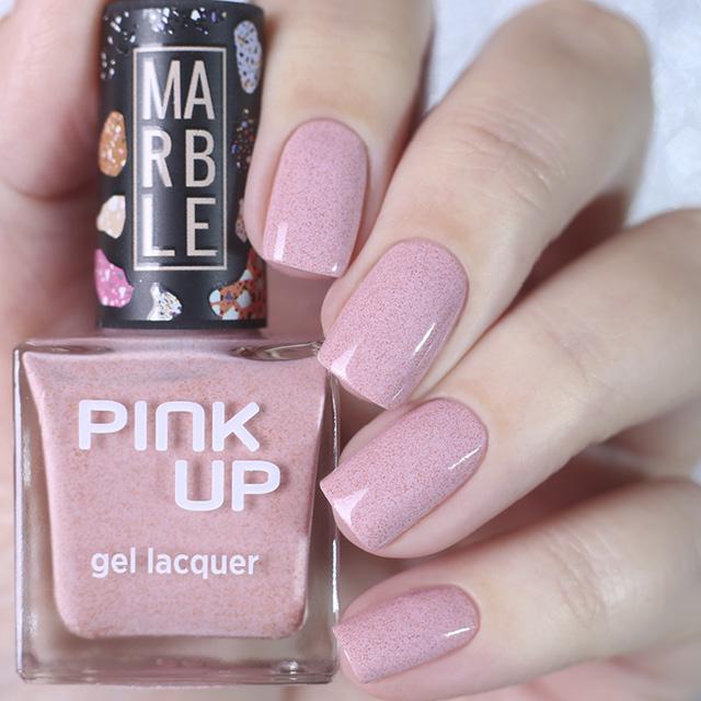Лак для ногтей Pink Up Limited Marble тон 05 фото