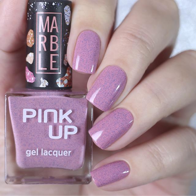 Лак для ногтей Pink Up Limited Marble тон 06 фото