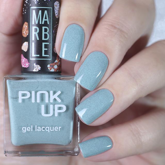 Лак для ногтей Pink Up Limited Marble тон 08 фото