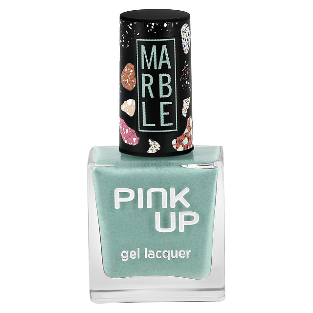 Лак для ногтей Pink Up Limited Marble тон 08