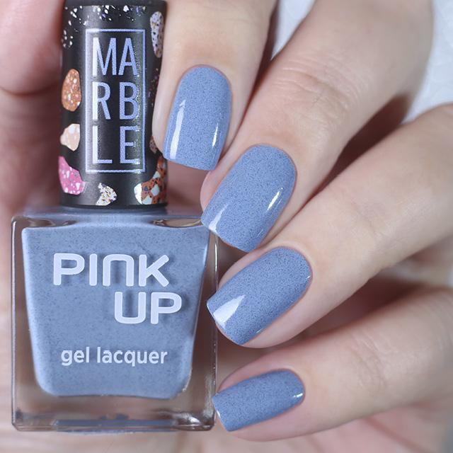 Лак для ногтей Pink Up Limited Marble тон 09 фото