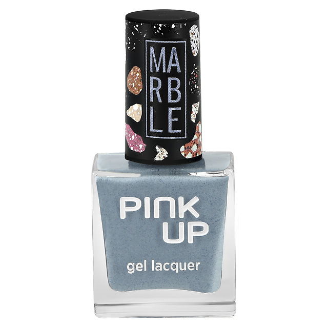 Лак для ногтей Pink Up Limited Marble тон 09