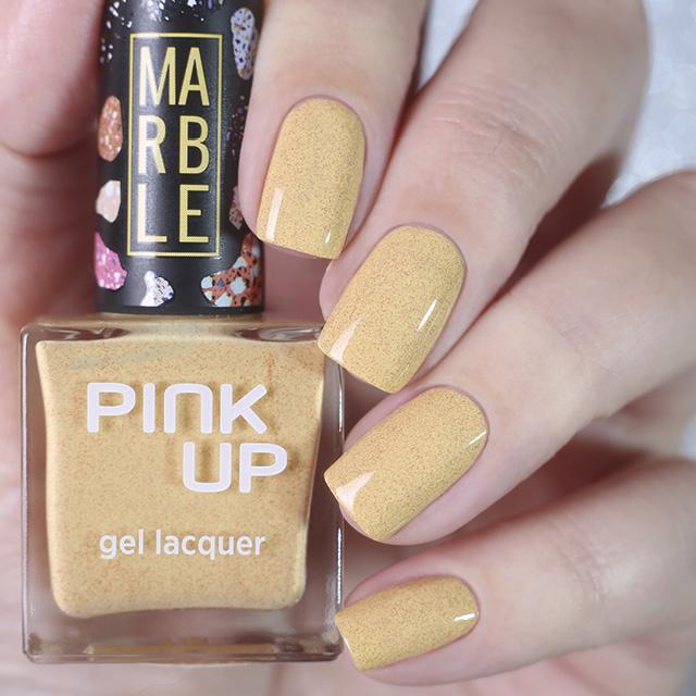 Лак для ногтей Pink Up Limited Marble тон 10 фото