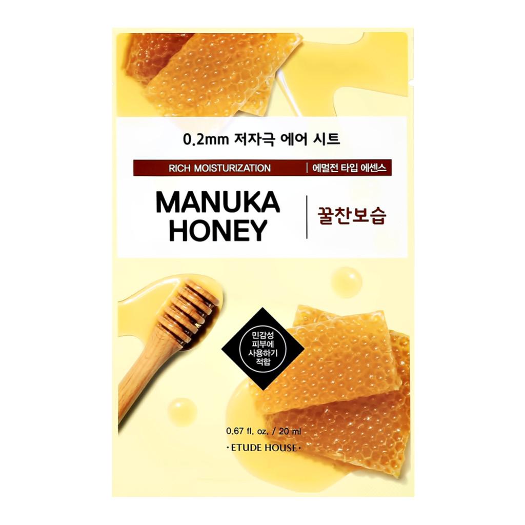 Маска для лица с экстрактом меда мануки питательная Etude House
