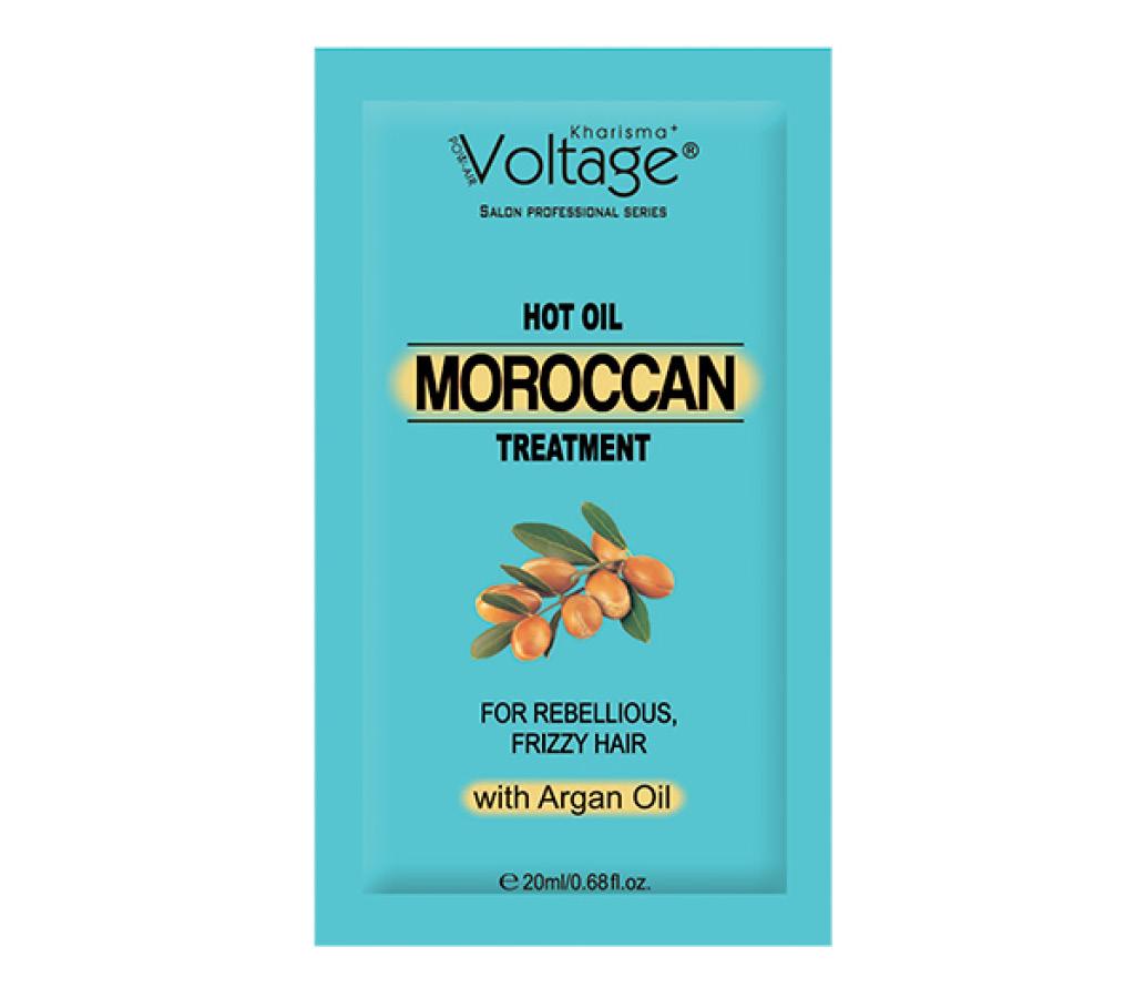 Маска для волос Kharisma Voltage с аргановым маслом для непослушных волос