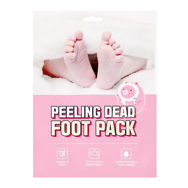 Маска-носочки для ног Mefactory отшелушивающая с AHA и BHA-кислотами