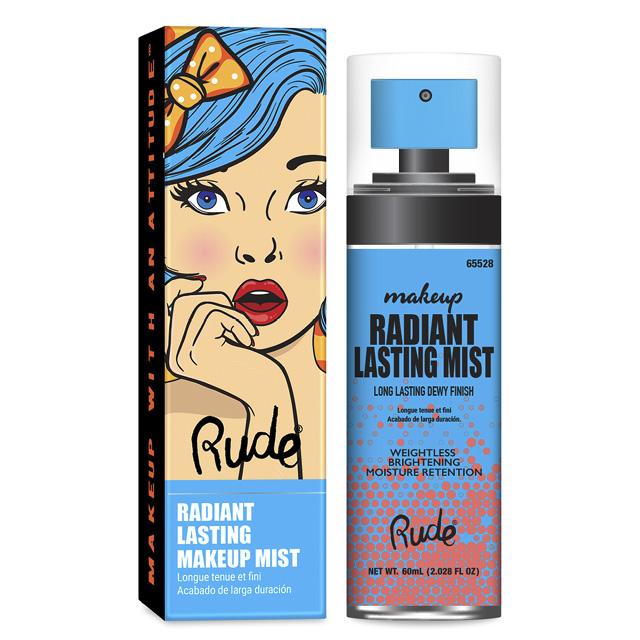 Мист для лица Rude Radiant Lasting Makeup Mist Clear