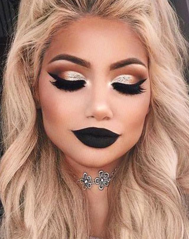 Ошибки макияжа темная помада нет