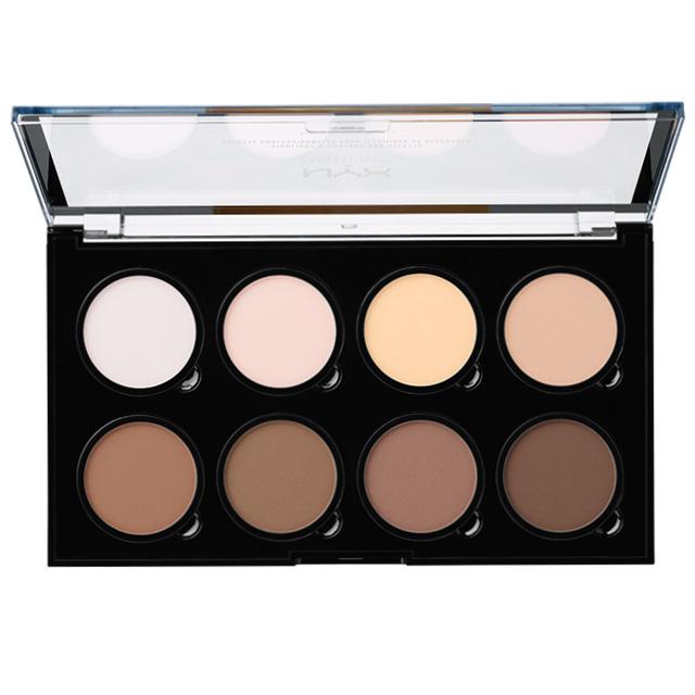 Палетка для контурирования NYX Professional Makeup Highlight & Contour Pro Palette тон 01