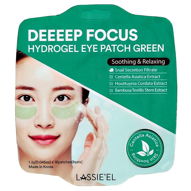 Патчи для глаз Lassie`El Deeeep Focus гидрогелевые с экстрактом центеллы азиатской