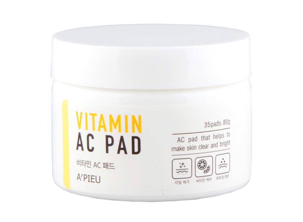 Пилинг-диски для лица с АНА- и ВНА-кислотами и 6 витаминами A`Pieu