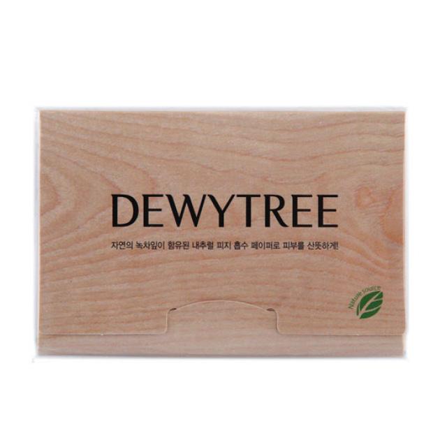 Салфетки для лица матирующие Dewytree, 50 шт.