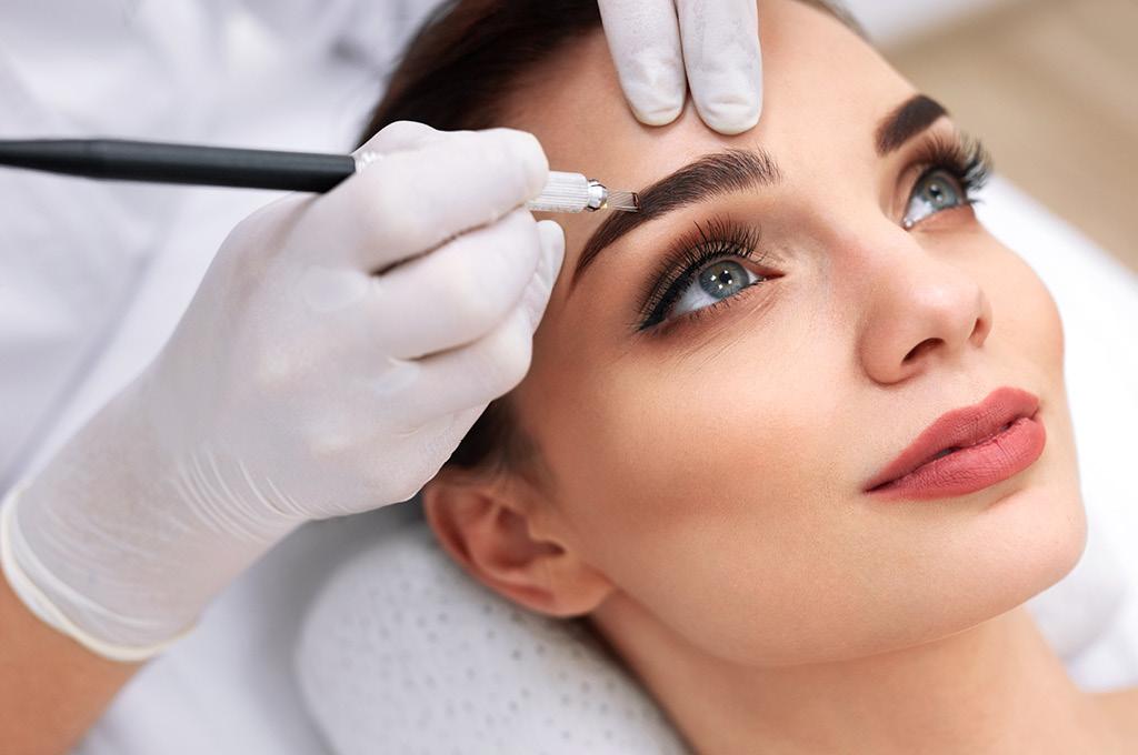 Сколько стоит перманентый макияж бровей