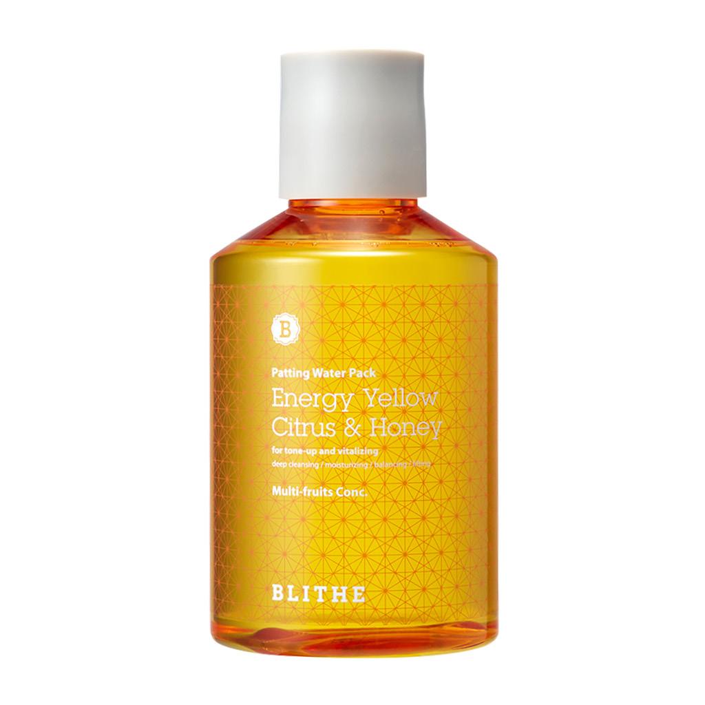 Сплеш-маска для сияния «Энергия цитруса и меда» Energy Yellow Citrus & Honey Splash Mask Blithe