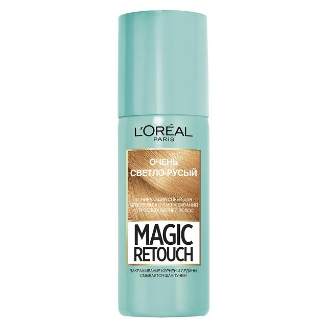 Спрей для волос тонирующий L'Oreal Magic Retouch тон 9 (очень светло-русый)