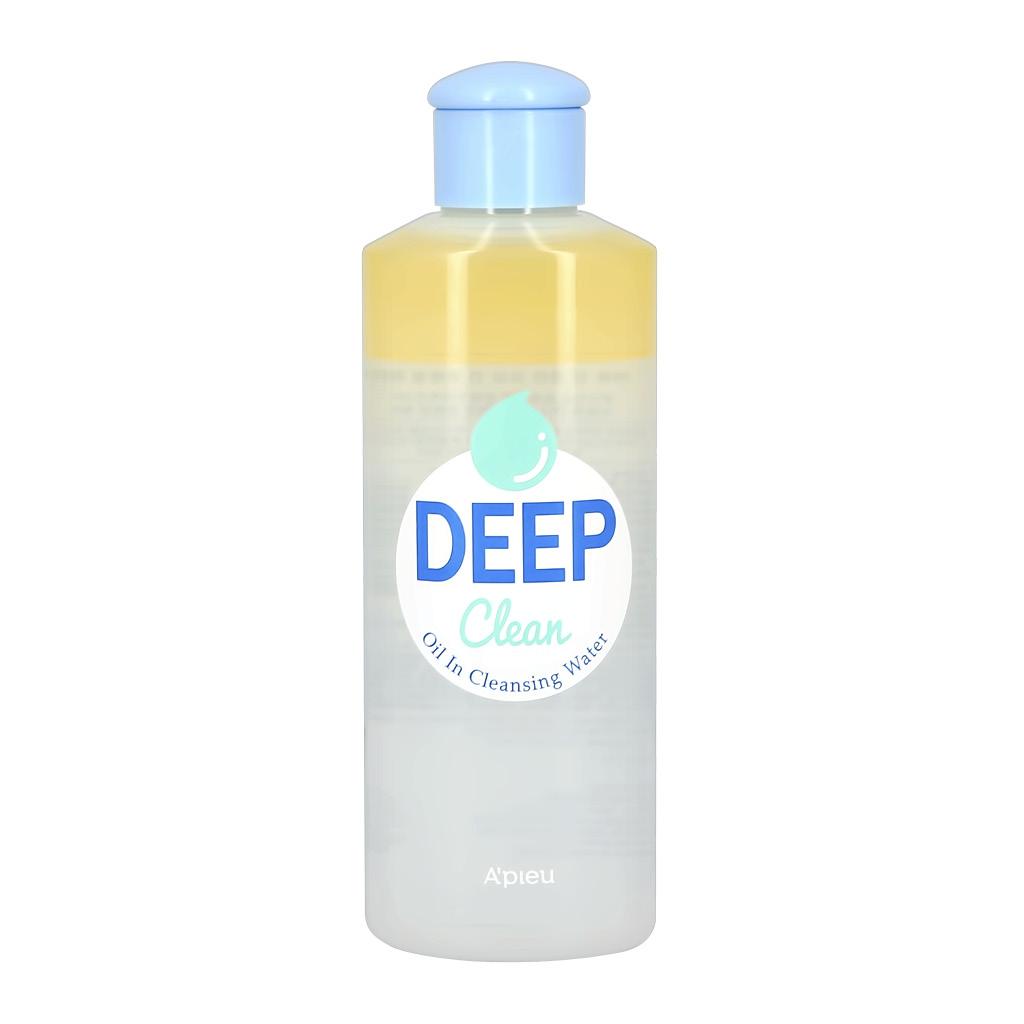 Средство для снятия макияжа с глаз и губ с маслом облепихи Deep Clean A`Pieu